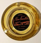 Vintage Las Vegas Ashtray From The New Frontier Hotel Casino Very Rare