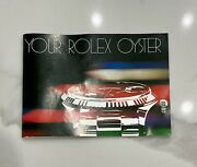 Vintage Collectible 80s Your Rolex Oyster Booklet 579.26 Owners Manual Pre