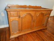 Vintage Magnavox Micromatic Record Console Circa 1960s Am/fm Stereo Phono Works