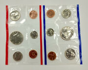 United States Mint 1988 Uncirculated Coin Set P And D