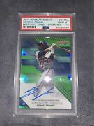 2017 Bowmanand039s Best Best Of 2017 R. Acuna Jr Green Auto Refractor Gem Mt 10andnbsp