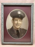 Vintage 1950's - 1960's Kentucky Military Institute Photo Young Officer