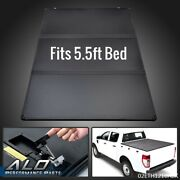 Hard Tri-fold Tonneau Cover For 15-20 Ford F150 Pickup Truck 5.5ft Bed Crew Cab