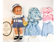 Vintage Patsy Effanbee Doll Blue Dress Limited Edition