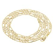 14k Yellow Gold Figaro Chain Necklace 20 3.9mm 8.9 Grams