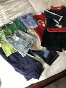 New Lot Of Boys Clothes Size 12 Months Oshkosh, Carter's, Op And More 10 Pieces