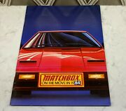 Matchbox Cars On The Move In 1984 Dealer Catalog Kidco Complete Mint