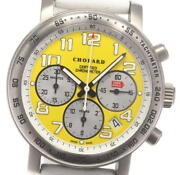 Chopard Mille Miglia 8915 Limited To 1000 Yellow Dial Auto Menand039s Watch_605691