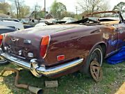 Corniche Convertible Rolls Royce Bentley Continental Tail Light. Parting Out Car