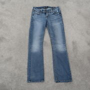 Silver Tuesday Jeans Womenand039s Tag Size 27x31 Thick Stitch