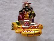 The Beatles Christopher Radko All Together Now Christmas Ornament New