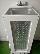 Portable Hand Wash Sink Concession Sink Hot Water 120 Volt Nsf Used