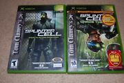 Xbox Tom Clancys Splinter Cell And Chaos And Collectorand039s Bonus Dvd Tested