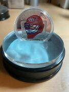 2009 Canadian Sterling Silver Coin Montral Canadians Goalie Mask