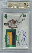 Rookie Rc Auto Patch 2015-16 Dand039angelo Russell Flawless Emerald 2/5 Bgs 9.5 / 10