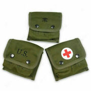 Ww2 Wwii Usmc Us Army Soldier M2 Jungle First Aid Pouch Full Set Reenactment