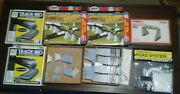 Atlas Ho Scale Over N Under, Plan Book, Woodland Scenics Track Bed, Tyco Etc.