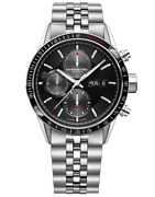 New Raymond Weil 7731-st1-20621 Menand039s Freelance 42mm Chronograph Silver Watch
