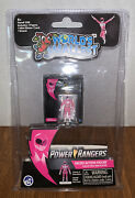 Pink Power Ranger / Worlds Smallest Micro Action Figure Collectible. New