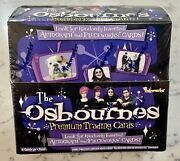 The Osbournes Sealed Trading Card Box Look For Ozzie Autograph And Pieceworks Card