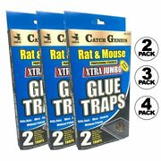 Jumbo Mouse Trap Sticky Glue Rat Mice Boards 2trap/pck Fast Shipping