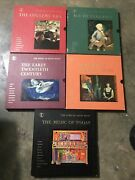 Time-life Records The Story Of Great Music 5 Box Sets W/ 4 Lps And Insert Books