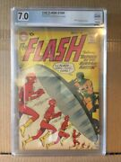 The Flash 109 2nd App Mirror Master 7.0 Graded