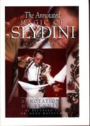 The Annotated Magic Of Slydini Magic Book-1st Edition-balls Coins Cards-close-up