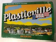 Bachmann Plasticville O Scale Police Station With Police Car 45609 New Worn Box