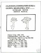 Antique Aircooled Outboard Manualservice Manual 1960s