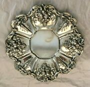 Reed And Barton Sterling X569 Tray Pattern Francis I 2 Of 2 Grape Clusters