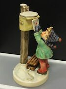 Hummel Figurine 340 Letter Ans Baby Jesus 7 5/16in First Choice