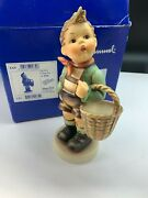 Hummel Figurine 51/i Dorfbub 7 1/2in With Original Package And Certificate