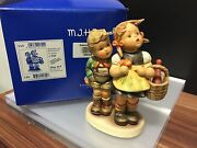Hummel Figure 49/i Little Brother And Schwesterlein 6 1/2in First Choice.