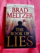 The Book Of Lies First Edition 2002 Hardcover Dust Jacket Brad Meltzer Usa