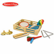Melissa And Doug Band-in-a-box Clap Clang Tap Musical Instruments Various