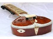 Sitar Carving Fusion Electric Sitar With Fiberglass Case Gsm017 C
