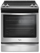 Whirlpool Wee745h0fs Stainless Steel 30 True Convection Electric Range