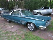 1966 Chrysler 300 Convertible Running 440 Car For Parts Or Restore