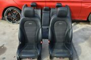 2017 W204 Mercedes C43 C63 Amg Sedan Front And Rear Seats Seat Set Black Complete