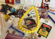 Junk Drawer Lot Coca-cola Jewelry Coins Football Cards Antiques Soaps 2006 Map
