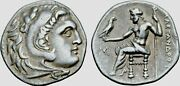 Acd10 Ionia Miletos Ar Drachm Alexander Iii Of Macedon 295-275 Bc 4.08g 19mm