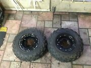 2010 10 Can Am Ds450x Xc Ds 450 Front Wheels Beadlocks / Tires / Rims