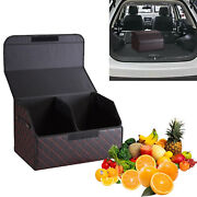 Car Trunk Storage Organizer W/lid For Travel Shopping Multipurpose Collapsible