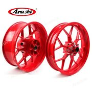 Front And Rear Wheel Rims For Honda Cbr1000rr 2008 - 2016 2014 2013 2012 2011 Red
