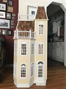 Real Good Toys Dollhouse Playscale Victorian Townhouse For Barbie 11 1/2 Dolls