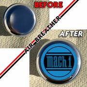 Mach 1 Ford Mustang Emblems⏺radiator Cap Cover/air Breather Cover⏺ Mach1 1969-73