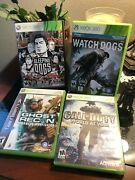 Watch Dogs Sleeping Dogs Call Of Duty Ghost Recon Bundle Microsoft Xbox 360