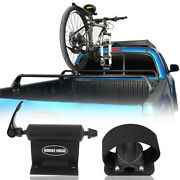 Bike Carrier Quick-release Alloy Fork Lock Bicycle Truck Bed Roof Rack Mount