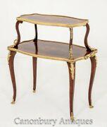 French Etagere Tiered Table - Antique Pastry Table Circa 1900